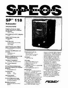 Sp 118 Manuals