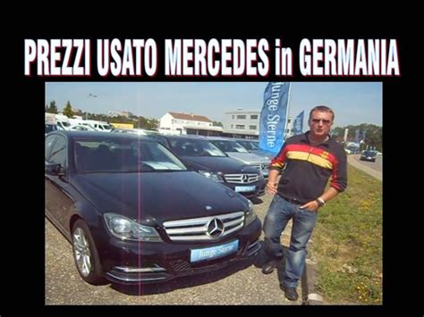 prezzi mercedes usate  germania youtube