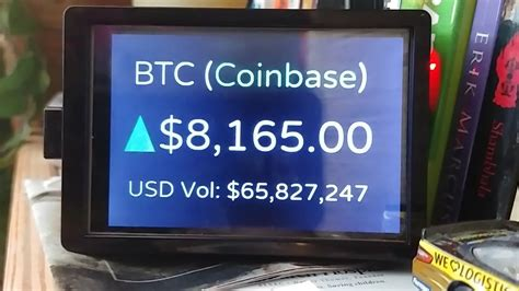 Their users enjoy relatively low fees, high trade limits, and an excellent support team that you can access round the clock via their live chat canadian bitcoin regulation. Bitcoin Price Ticker / Bitcoin Ticker On Raspberry Pi Zero W Steemit - This can happen if the ...