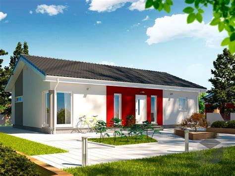 Danwood Haus Perfekt 98 by 98 Dan Wood Bungalow Satteldach H 225 Zik 243
