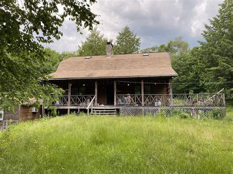 log cabin   woods upper delaware real estate homes  sale hancock ny downsville