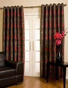Rideau Gris Et Rouge : rideau gris rouge noir ~ Teatrodelosmanantiales.com Idées de Décoration