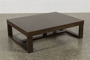 watson rectangle coffee table living spaces With watson coffee table