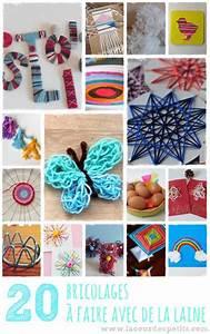 Bricolage A Faire Avec Des Petit : que faire avec de la laine la cour des petits ~ Melissatoandfro.com Idées de Décoration