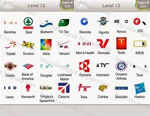 Logo Quiz Level 12 Answers by bubble quiz games Answers ...
