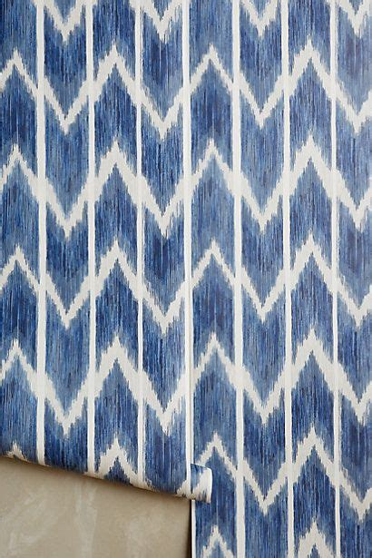 textured ikat wallpaper anthropologie accessories