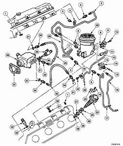 Where Are The Fuel Injectors Located On A 2003 Ford E