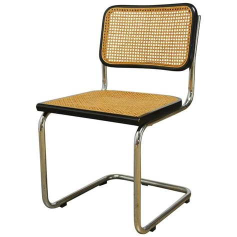 chaise marcel breuer mid century cesca chair by marcel breuer at 1stdibs