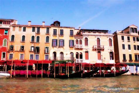 Italy Gondola Ride In Venice