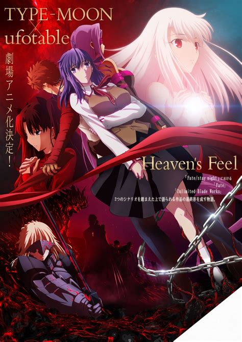 fate stay night heavens feel visual