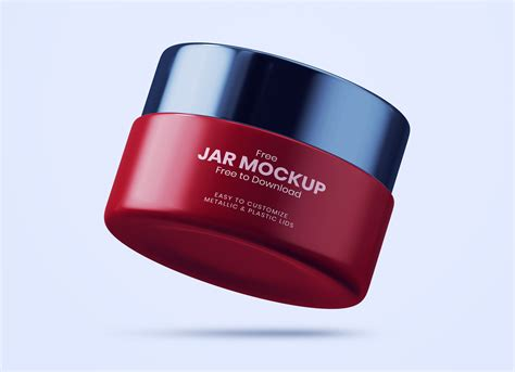 Subscribe to get our premium mockup absolutely free. Free Cosmetic Cream Jar Mockup PSD - Good Mockups