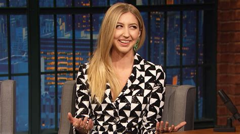 late night  seth meyers interview heidi gardner