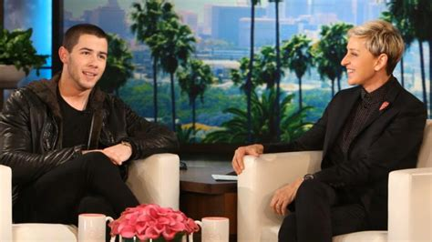 Nick Jonas Gets Called Out by Ellen DeGeneres About the ...