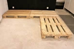 fabriquer canape fabriquer canapé d 39 angle en palette