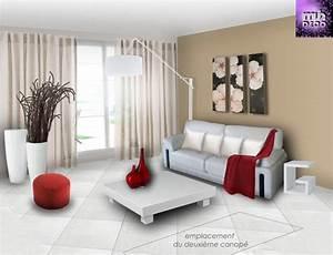 cuisine deco salon ultra moderne chaios decoration With decoration interieur salon moderne