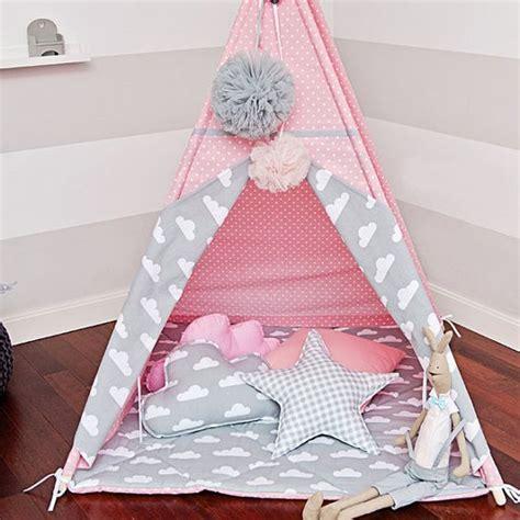 Tipi Kinderzimmer Rosa by Teepee Tent Cloudy Kinderzimmer Kinder Tipi