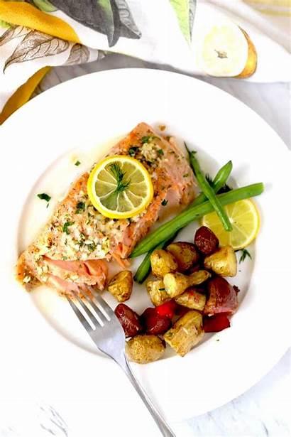 Salmon Baked Easy Lemon Butter Recipe Herb