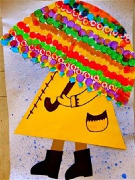 umbrella craft idea  kids crafts  worksheets  preschooltoddler  kindergarten