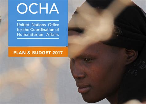 Ocha Launches Its 2017 Plan And Budget