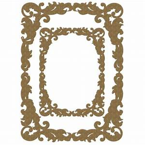 Fancy Rectangle Frame Set