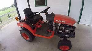 Kubota Bx2350 - No Crank Common Issues