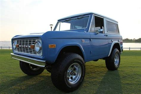 electric power steering 1985 ford bronco on board diagnostic system buy used 1973 ford bronco sport air conditioning pwr brakes pwr steering in pensacola