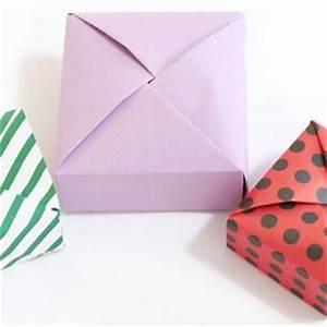 Quadratische Schachtel Falten : videoanleitung papierschachtel falten ohne klebstoff und schere ~ Eleganceandgraceweddings.com Haus und Dekorationen