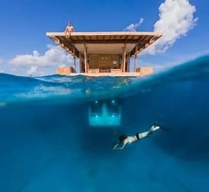 Haus Im Wasser : traumh user unglaubliches haus mit einem schlafzimmer unter wasser ~ Watch28wear.com Haus und Dekorationen