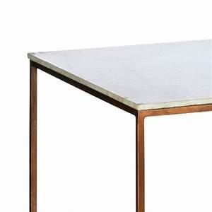 Beistelltisch Kupfer Impressionen : beistelltisch marmor und kupfer vintage retro tisch ~ Indierocktalk.com Haus und Dekorationen