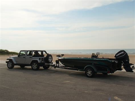 Tow A Boat With Jeep Wrangler Unlimited by Muskiefirst Jeep Wrangler Unlimited As Tow Vehicle