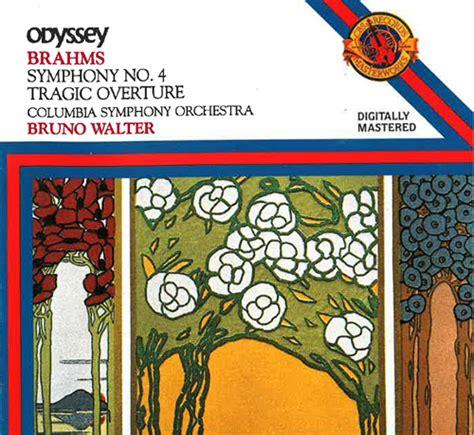 Brahms Best Symphony Brahms Symphony No 4 Bruno Walter Emily S Dump