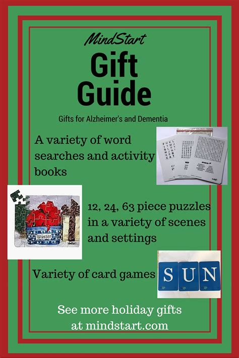 Maybe you would like to learn more about one of these? Alzheimer's Gifts that are Great