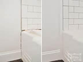 installing ceramic tile backsplash in kitchen tiling our shower beautiful matters
