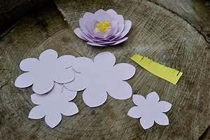 Fleur De Papier : cam lias en papier fleurs en papier maman tout faire ~ Farleysfitness.com Idées de Décoration