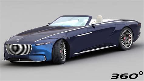 3d Mercedes-maybach Vision 6 2018