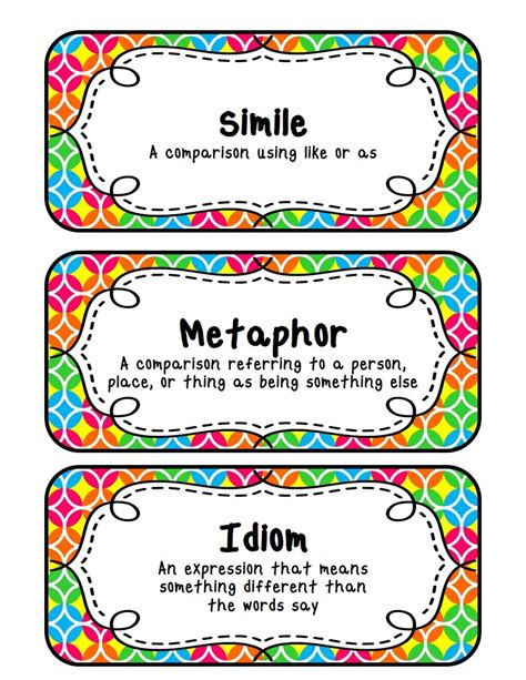 Fit To Be Fourth Similes, Metaphors, & Idioms (with A Freebie