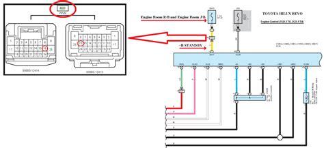 toyota hilux revo wiring engine hilux revo ecm power source standby 12 volt wiring