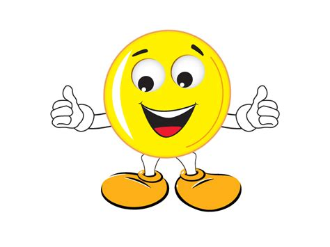 Smiley Cartoon Dancing Animated Picture