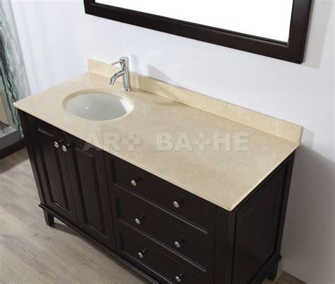 left offset sink vanity left offset bathroom vanity with sink lily 55 chai