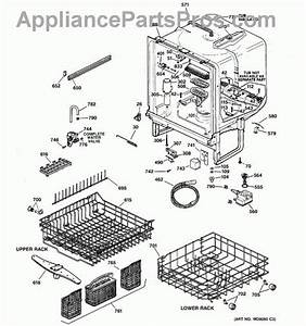 Ge Nautilus Dishwasher Parts Diagram