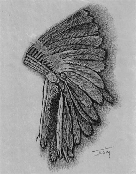 Sioux Indian Headdress  Fine Art, Ribs And Ink