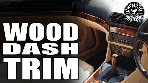 polishing wood trim chemical guys car care bmw