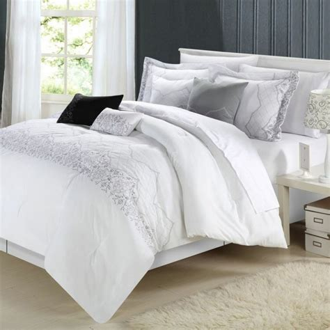 white comforter sets king get alluring visage by displaying a white comforter sets king homesfeed