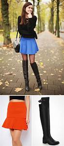 18 Ways to Pair Boots With Skirts | Brit + Co