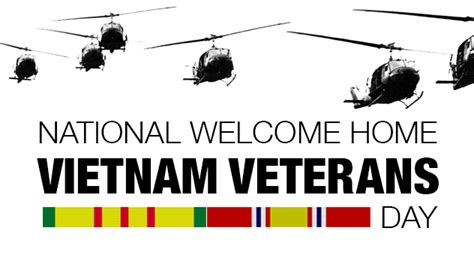 vietnam veterans day national  international days