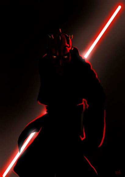Maul Darth Iphone Wars Star Sith Wallpapers