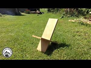 Comment Construire Une Chaise De Viking En Bois YouTube