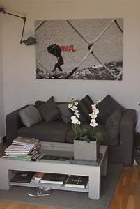 deco photo salon et appartement boulogne moderne jeune With tapis champ de fleurs avec canapé blanc et taupe