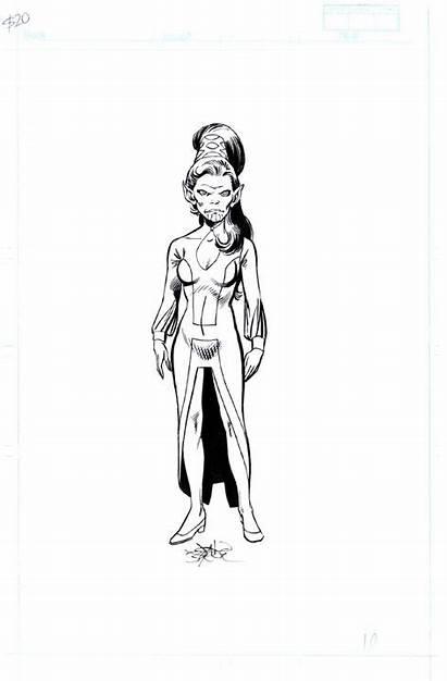 John Byrne Marvel Skrull Queen Universe Comic