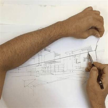 Perspective Drawing Point Architect Hack Architectural Simple